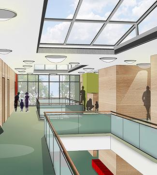 Meier-Ebbers Architektur Neubau Kita Schulstraße Gelsenkirchen