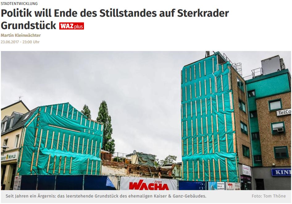 Meier-Ebbers Pressebericht WAZ Kaiser-Ganz Jun2017