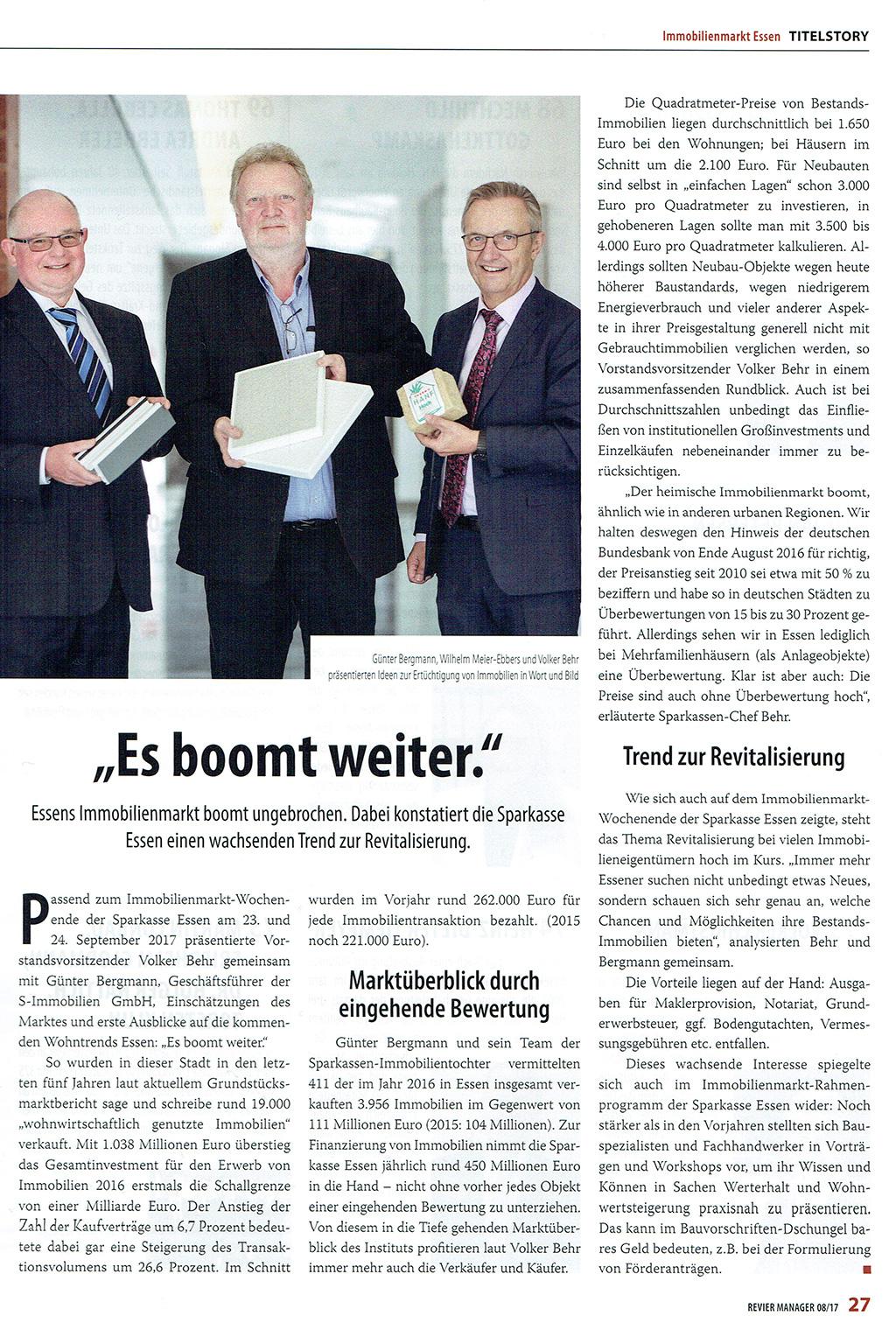 Meier-Ebbers Pressebericht Revier-Manager 08/2017